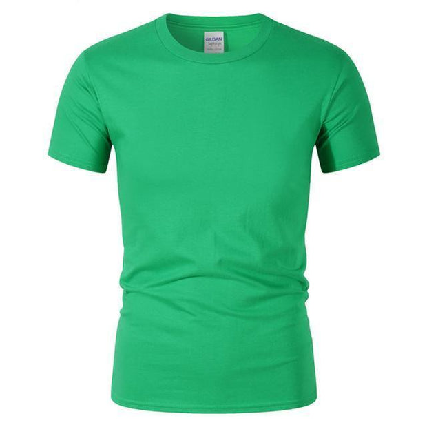 West Louis™ Summer High Quality Cotton T-Shirt Green / S - West Louis