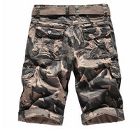 West Louis™ Camouflage Cargo Cotton Shorts