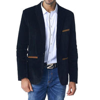 West Louis™ Business Autumn Linen Blazer  - West Louis
