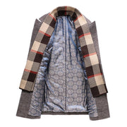 West Louis™ The Long Section Windbreaker Coat  - West Louis