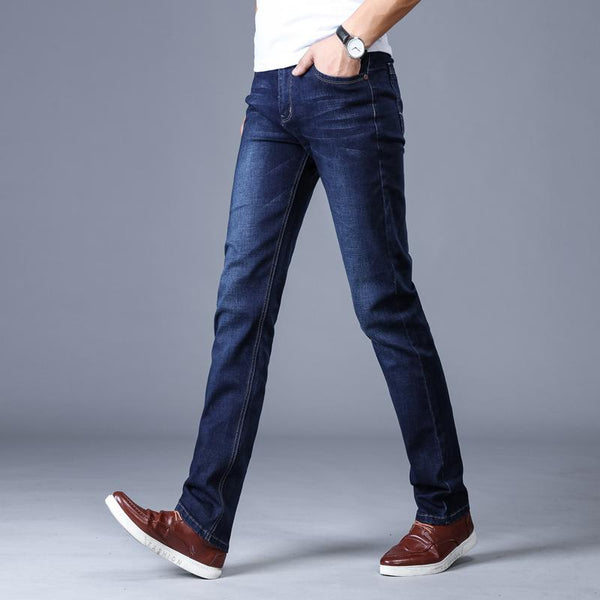 West Louis™ Classic Pantalon Homme Jeans  - West Louis