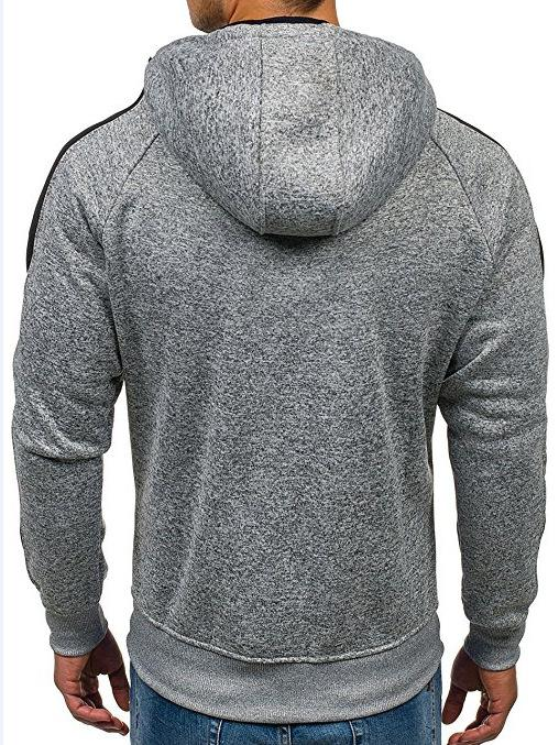 West Louis™ Hoodies Men Zipper Sweatshirt