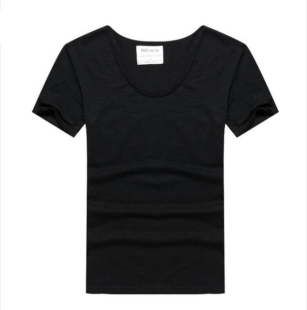 West Louis™ Cotton Bamboo Short Sleeve Tee Black / S - West Louis