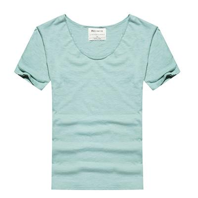 West Louis™ Cotton Bamboo Short Sleeve Tee Turquoise / S - West Louis