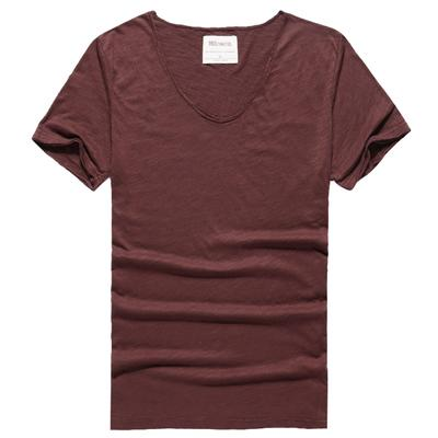 West Louis™ Cotton Bamboo Short Sleeve Tee Coffee / S - West Louis