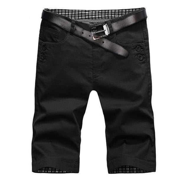 West Louis™ Summer Fashion Cotton Shorts black / 28 - West Louis