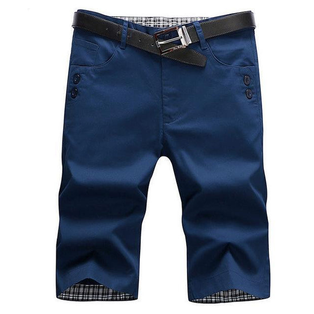 West Louis™ Summer Fashion Cotton Shorts Dark blue / 28 - West Louis