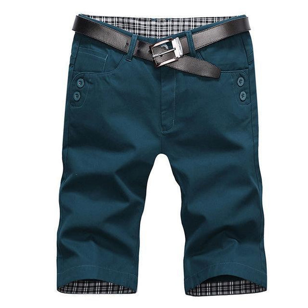 West Louis™ Summer Fashion Cotton Shorts Dark green / 28 - West Louis