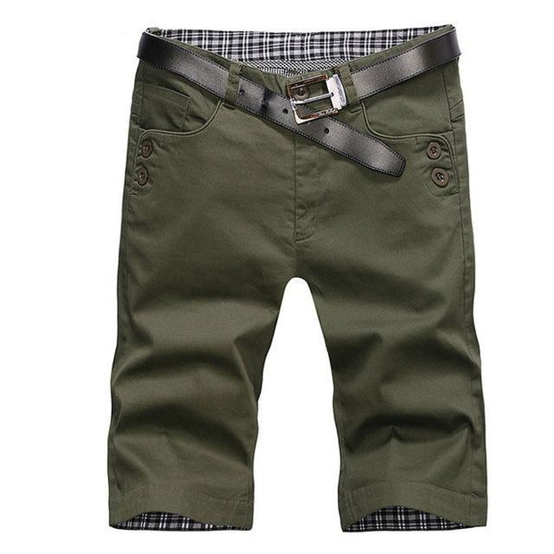 West Louis™ Summer Fashion Cotton Shorts Army green / 28 - West Louis