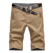 West Louis™ Summer Fashion Cotton Shorts Khaki / 28 - West Louis
