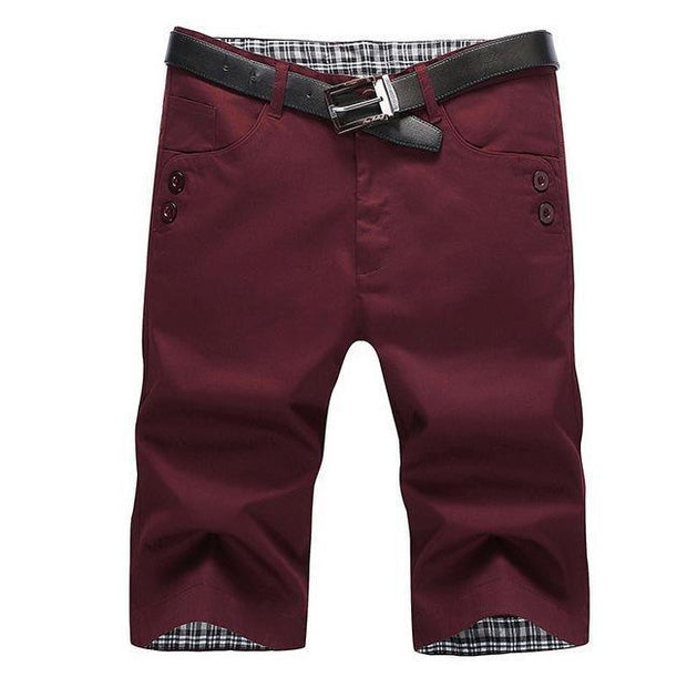 West Louis™ Summer Fashion Cotton Shorts Red / 28 - West Louis