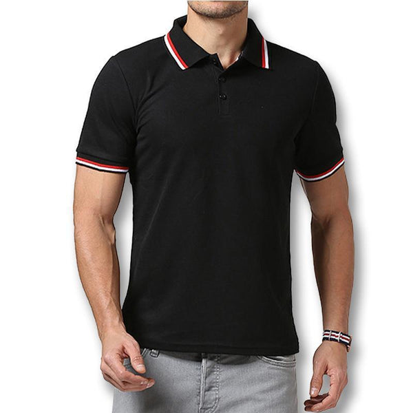 West Louis™ Summer Short Sleeved Polo Shirt  - West Louis