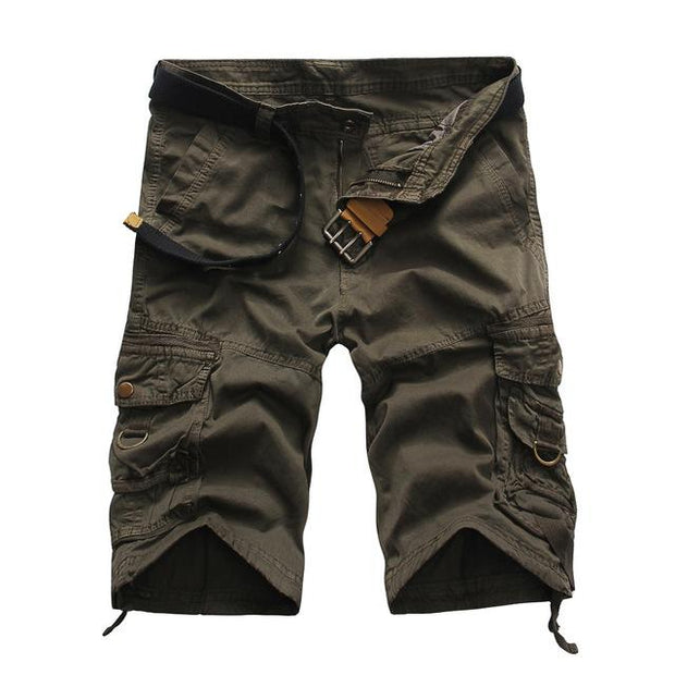 West Louis™ Summer Camouflage Millitary Shorts Gray / 34 - West Louis
