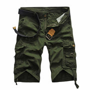 West Louis™ Summer Camouflage Millitary Shorts Army Green / 34 - West Louis