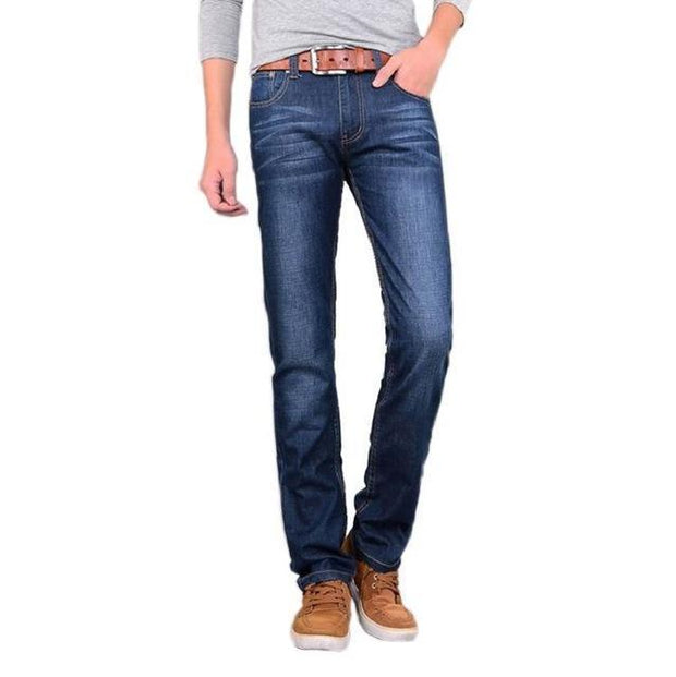 West Louis™ High Quality Classical Slim Jeans blue / 28 - West Louis