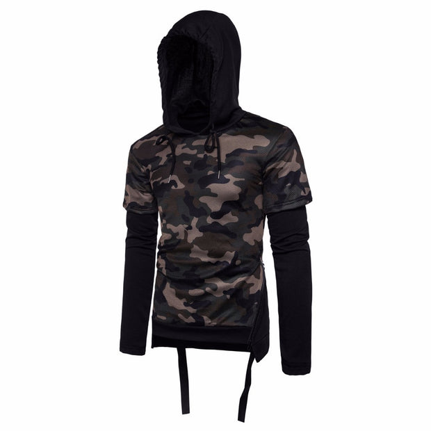 West Louis™ Camouflage Fashion Two-Piece Hoodie