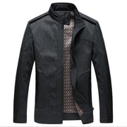 West Louis™ Designer Business-Man Spring Jacket Black / L - West Louis