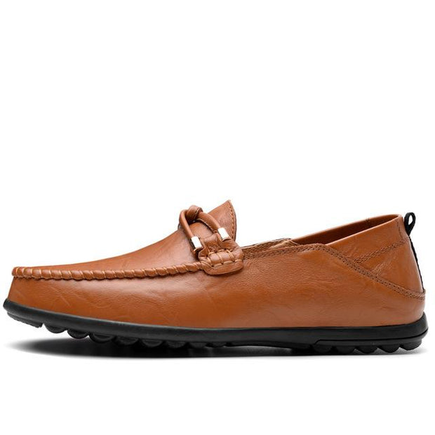 West Louis™ Casual Cow leather Moccasins Brown / 5 - West Louis