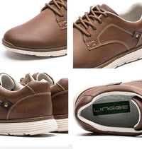 West Louis™ British Style Autumn Men Shoes  - West Louis