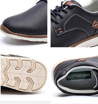 West Louis™ British Style Autumn Men Shoes