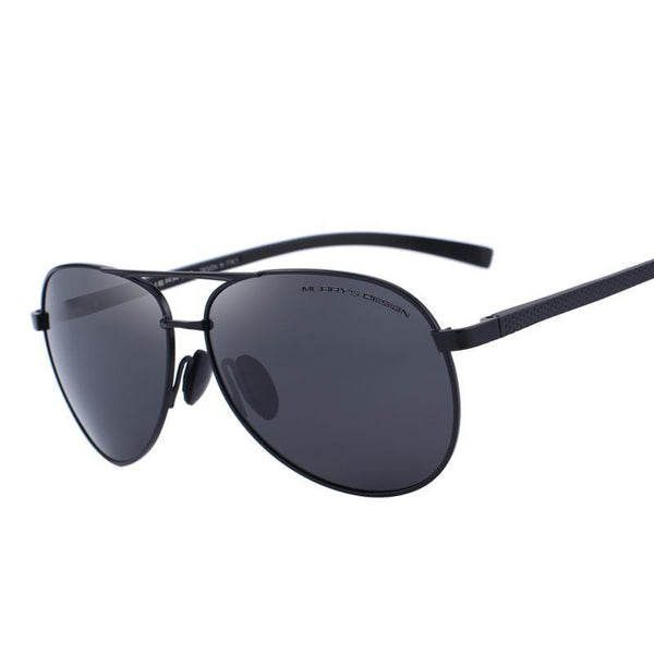 West Louis™ Classic Polarized Pilot Sunglasses  - West Louis