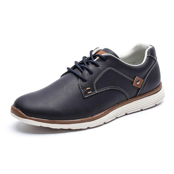 West Louis™ British Style Autumn Men Shoes dark blue / 7.5 - West Louis