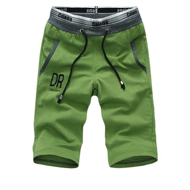 West Louis™ Summer Shirt/Shorts Cotton Set Green Short / XS - West Louis