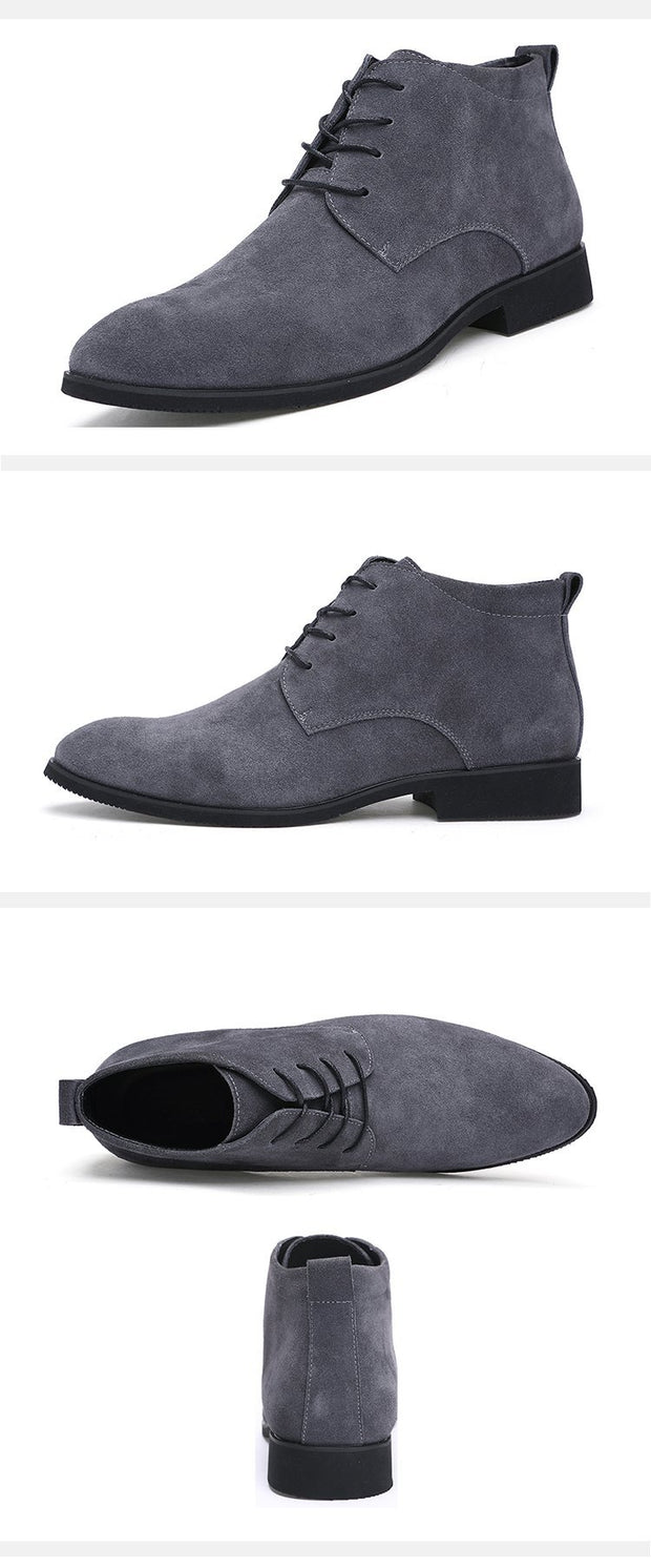 West Louis™ British Leather Ankle Boots  - West Louis