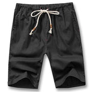 West Louis™ Knee Length Summer Shorts Black / S - West Louis