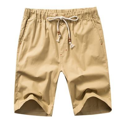 West Louis™ Knee Length Summer Shorts Khaki / S - West Louis