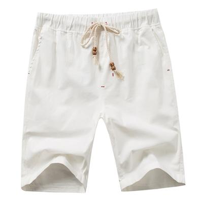 West Louis™ Knee Length Summer Shorts White / S - West Louis