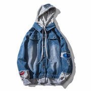 West Louis™ Spring Mens Hooded Jackets Dark Blue / M - West Louis