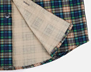 West Louis™ Plaid Flannel Luxury Dress Shirt