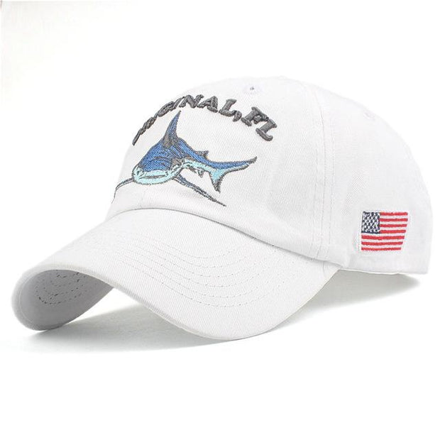 West Louis™ Washed Cotton Baseball Cap White / One Size - West Louis