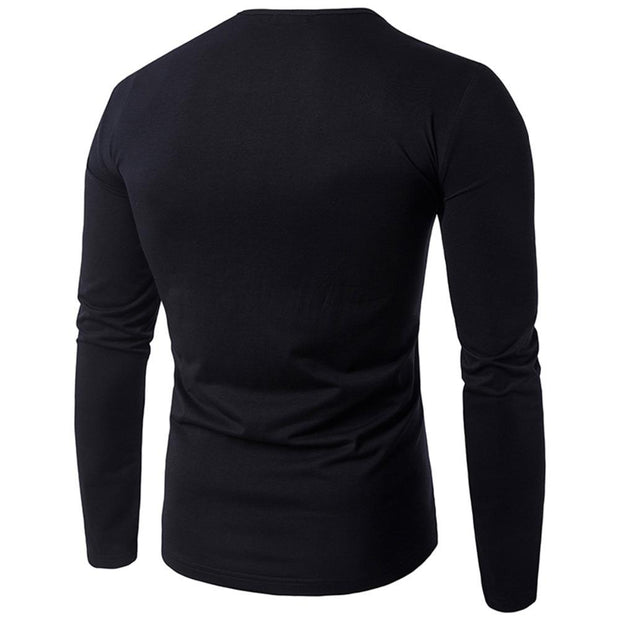 West Louis™  Dress Long Sleeve Zipper Shirt  - West Louis