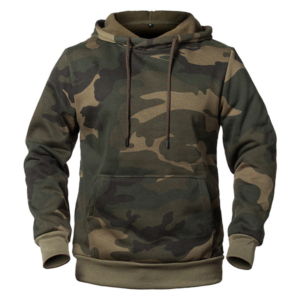 West Louis™ Camouflage Military Fleece Hoodie