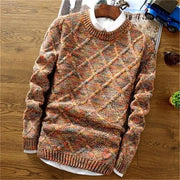 West Louis™ Knitwear Casual Autumn Sweater Orange / XL - West Louis