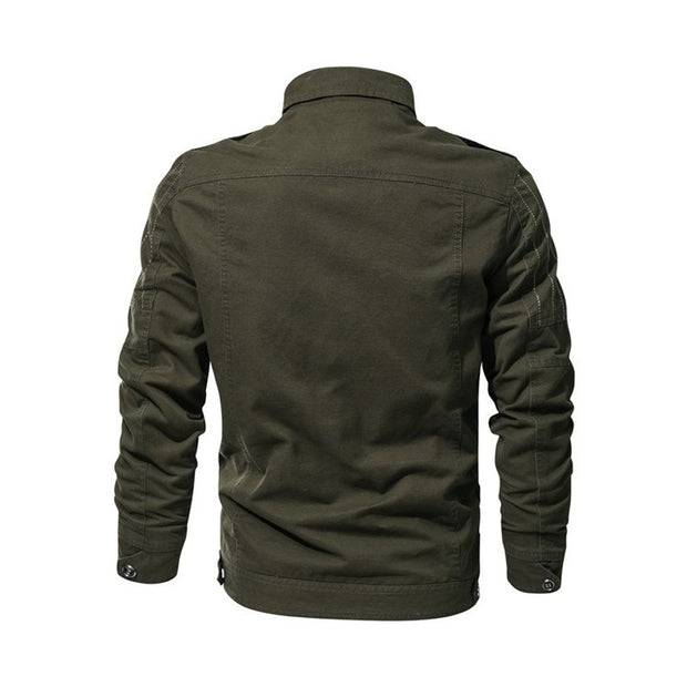 West Louis™ Spring Autumn Military Outerwear Bomber
