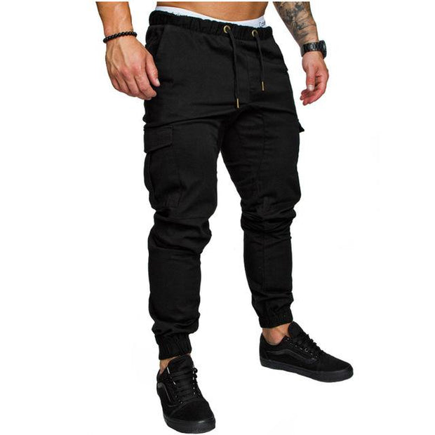 West Louis™ Harem Joggers Pants Black / M - West Louis
