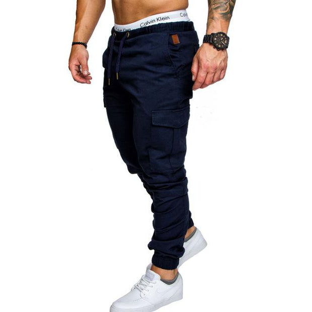 West Louis™ Harem Joggers Pants Navy / M - West Louis
