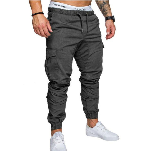 West Louis™ Harem Joggers Pants Iron gray / M - West Louis