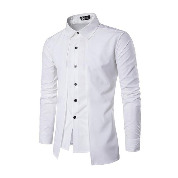 West Louis™ Color Social Dress Shirt White / M - West Louis
