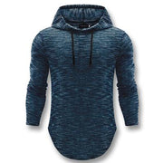 West Louis™ Autumn Long Hooded Shirt Blue / L - West Louis