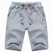 West Louis™ Casual Male Shorts Light Grey / M - West Louis