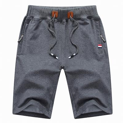 West Louis™ Casual Male Shorts Dark Grey / M - West Louis