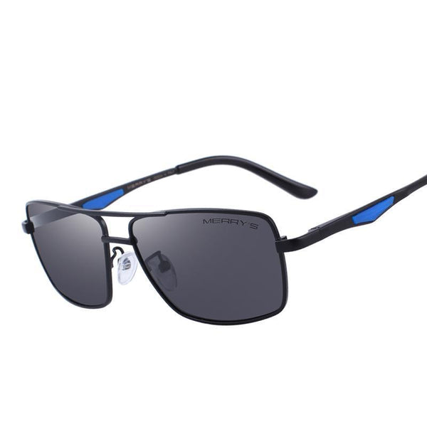 West Louis™ Polarized Rectangle Sunglasses  - West Louis