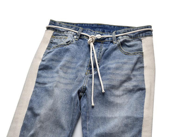 West Louis™ Hip Hop Pencil Jeans  - West Louis