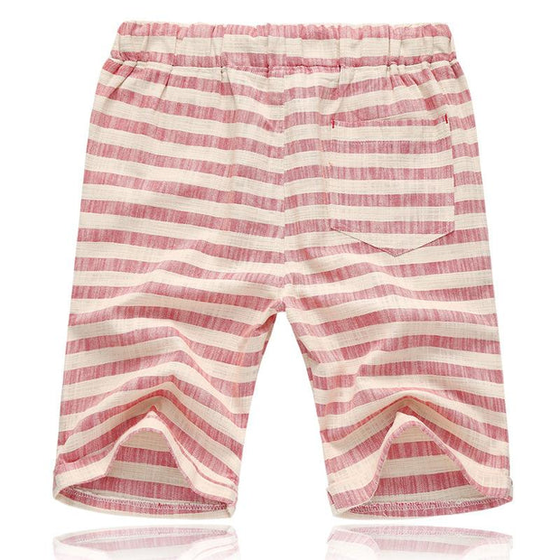 West Louis™ Striped Casual Shorts  - West Louis
