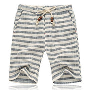 West Louis™ Striped Casual Shorts Gray / XL - West Louis