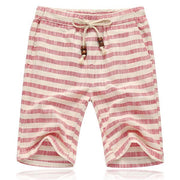 West Louis™ Striped Casual Shorts Red / XL - West Louis